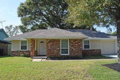 Houston Single Family Home For Sale: 7810 Marinette Drive