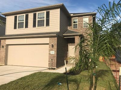 Bacliff Single Family Home For Sale: 5207 Gulf Stream