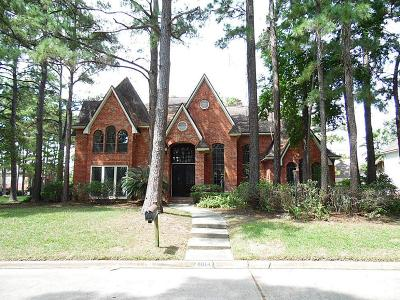 Spring Single Family Home For Sale: 8014 Dutch Oak Circle