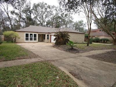 Houston Single Family Home For Sale: 4514 Hidden Springs Drive
