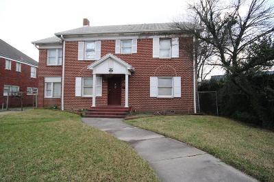 Houston Single Family Home For Sale: 2012 Wichita Street