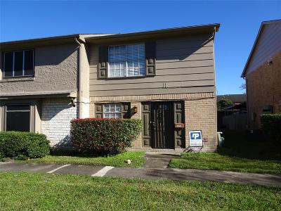 Houston TX Condo/Townhouse For Sale: $99,500