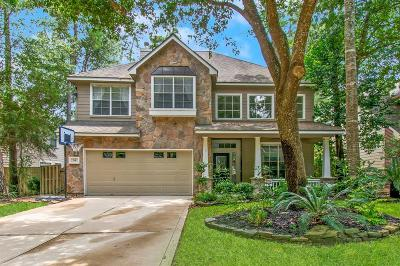 The Woodlands Single Family Home For Sale: 34 Wildflower Trace Place