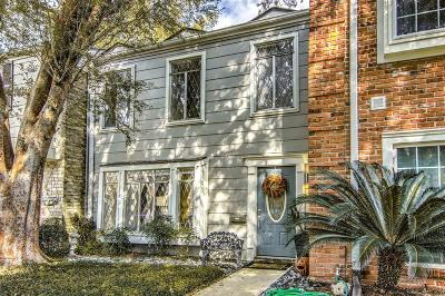 Houston Condo/Townhouse For Sale: 14471 Still Meadow Drive