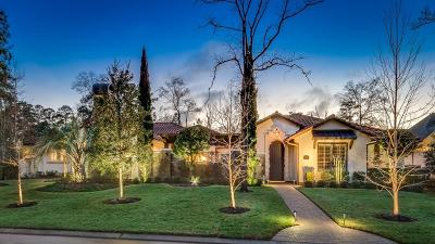 The Woodlands TX Single Family Home For Sale: $1,795,000