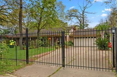 Houston Single Family Home For Sale: 12919 Memorial Drive