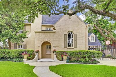 Braeswood Single Family Home For Sale: 2319 Glen Haven Boulevard