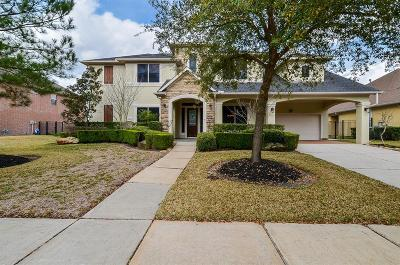 Katy Single Family Home For Sale: 8002 Bulrush Canyon Trail