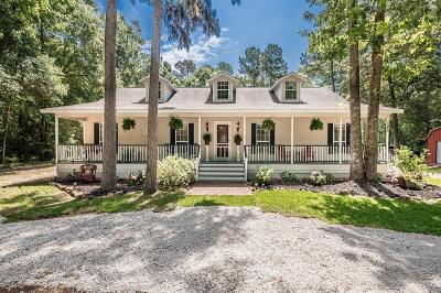 Huffman Single Family Home For Sale: 142 Long Road