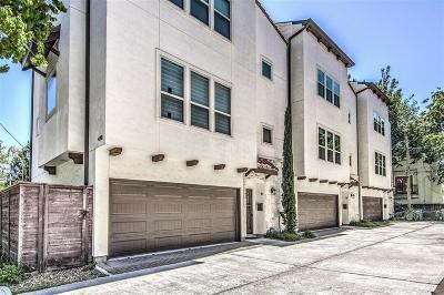 Houston Single Family Home For Sale: 4301 Dickson Street #B