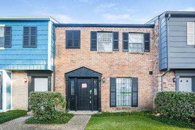 Houston TX Condo/Townhouse For Sale: $96,000