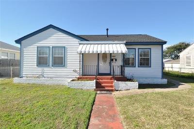 Galveston Single Family Home For Sale: 1417 Randall Place