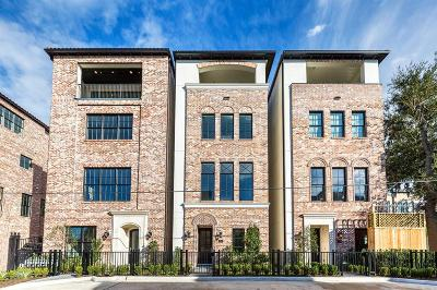Houston Condo/Townhouse For Sale: 17 Robita
