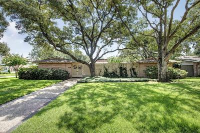 Houston Single Family Home For Sale: 6227 Lynbrook Drive