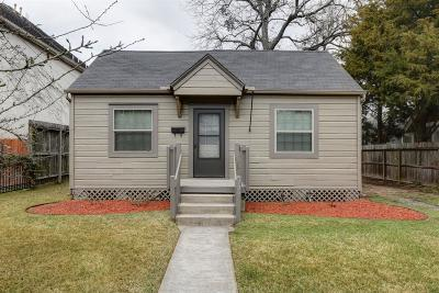 Houston Single Family Home For Sale: 729 E 13th 1/2 Street