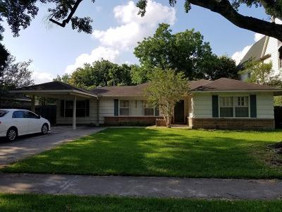 Bellaire Single Family Home For Sale: 4532 Braeburn Drive