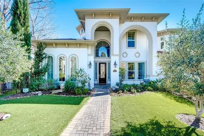 Houston Single Family Home For Sale: 3109 McCulloch Circle