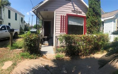 Galveston Single Family Home For Sale: 2522 Avenue M