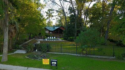 Houston Single Family Home For Sale: 155 N Deer Lake Road