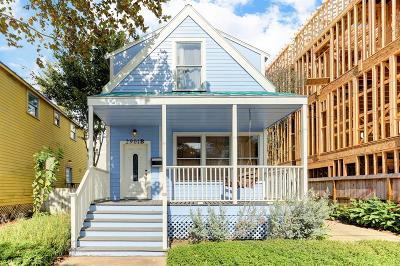 Houston Single Family Home For Sale: 2901 Gillespie Street #B