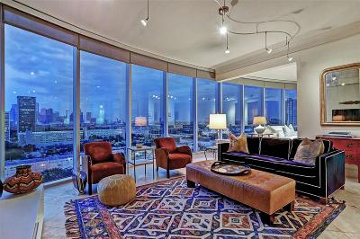 Houston Mid/High-Rise For Sale: 3333 Allen Parkway #1406