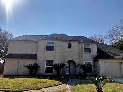 Friendswood Single Family Home For Sale: 1403 Edinburgh Drive