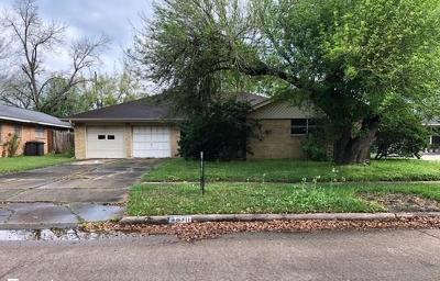 Houston Single Family Home For Sale: 8311 Glenheath Street