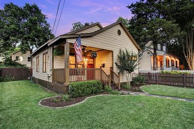 Houston Single Family Home For Sale: 1418 Lawrence Street