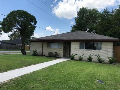 Houston Single Family Home For Sale: 4803 Briscoe Street