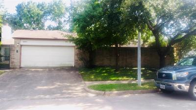 Houston Single Family Home For Sale: 8531 Triple Crown Drive