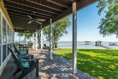 Bacliff Single Family Home For Sale: 4995 W Bayshore Drive