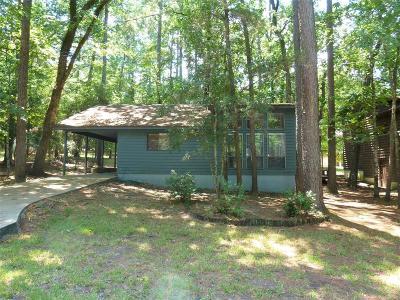 San Jacinto County Single Family Home For Sale: 340 N Fairway Loop