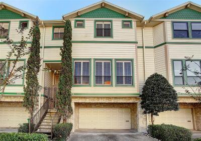 Houston Condo/Townhouse For Sale: 1333 Fairview Avenue