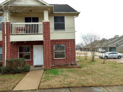Missouri City Condo/Townhouse For Sale: 3830 Shire Valley Drive