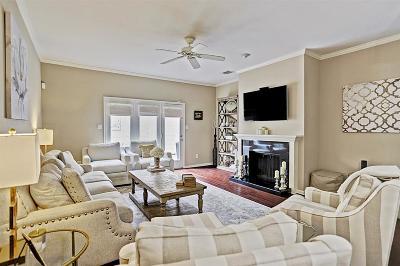 Houston Condo/Townhouse For Sale: 5858 Sugar Hill Drive