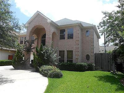 Houston Single Family Home For Sale: 3309 McCulloch Circle