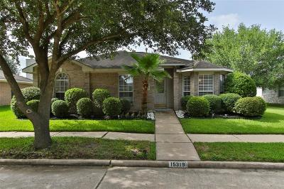 Houston Single Family Home For Sale: 15319 Bellport Drive