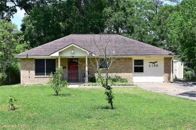 Dickinson Single Family Home For Sale: 2109 Holly Drive