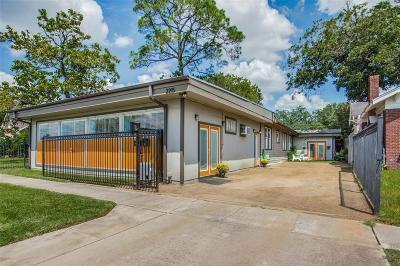 Houston Multi Family Home For Sale: 2215 Cleburne Street
