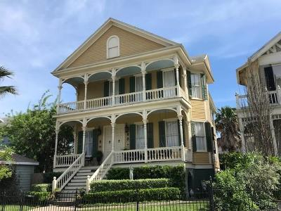Galveston Single Family Home For Sale: 1815 Sealy Street