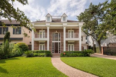 West University Place Single Family Home For Sale: 2723 Sunset Boulevard