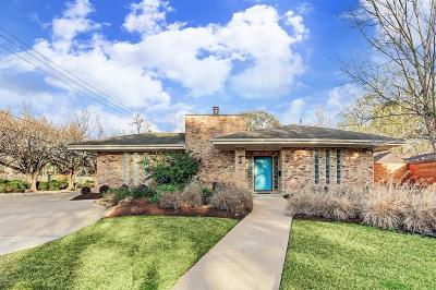 Houston Single Family Home For Sale: 4414 Rosslyn Road