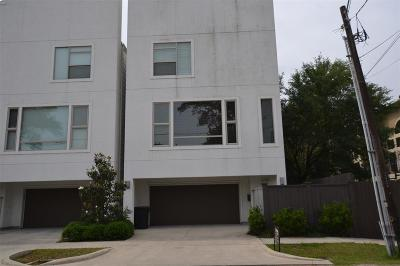 Houston Single Family Home For Sale: 5707 Schuler Street