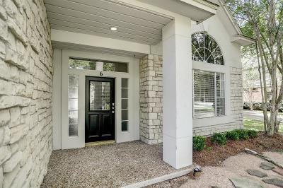 Single Family Home For Sale: 6 Treescape Circle