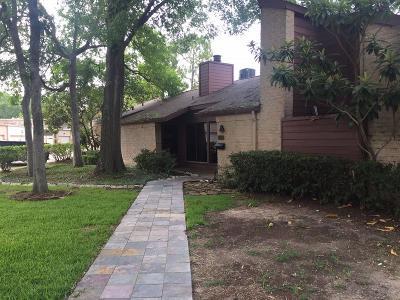 Houston Single Family Home For Sale: 9616 Bayou Brook Street