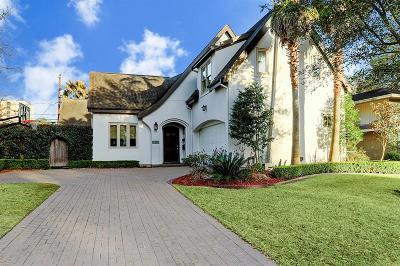 Houston Single Family Home For Sale: 3321 Drexel Drive