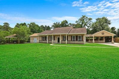 Conroe Single Family Home For Sale: 11834 Old Oaks Lane