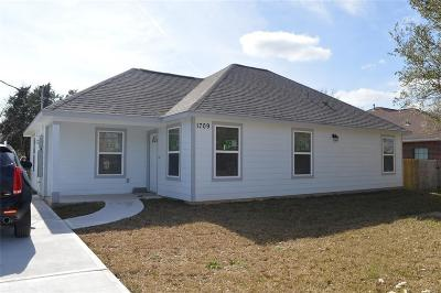 Galveston County Rental For Rent: 1709 Brookshire St
