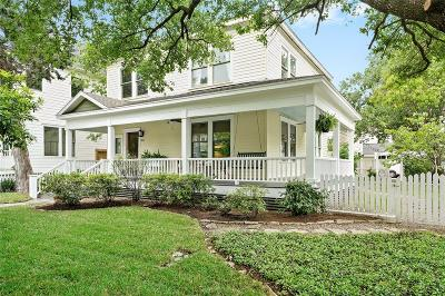 Houston Single Family Home For Sale: 801 Merrill Street