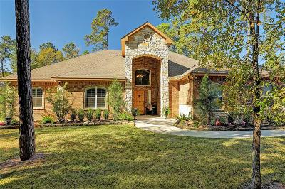 Single Family Home For Sale: 34007 Conroe Huffsmith Road